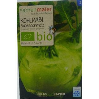 Kohlrabi Superschmelz Bio