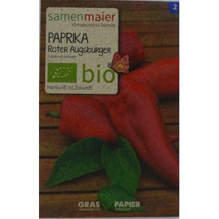 Paprika Roter Augsburger bio