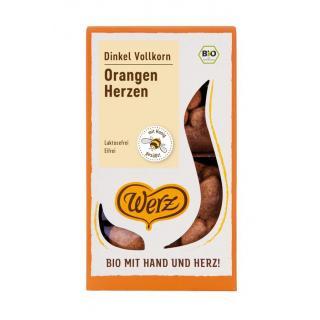 Orangen-Dinkel-Herzen  100 g