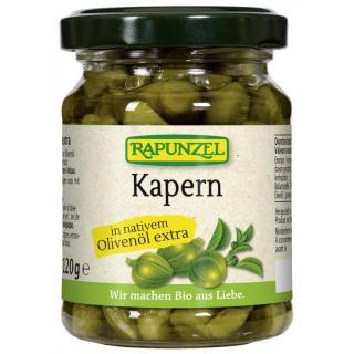 Kapern in Olivenöl