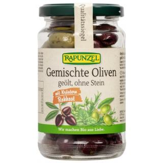 Gemischte Oliven mit Kräutern,