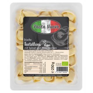 Tortelloni Spinat-Pinienkerne vegan