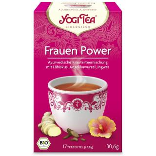 Yogi Tee Frauen Power 17 Btl