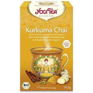 Kurkuma Chai Bio Yogi Tea 17 Stk