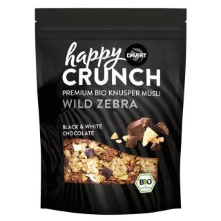 Happy Crunch Black&White Choc,