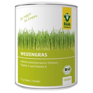 Weizengras-Pulver