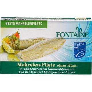 Makrelenfilets (ohne Haut)