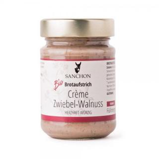 Creme Zwiebel-Walnuss