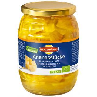 Ananas-Stücke