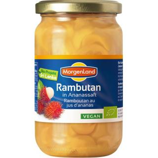 Rambutan in Ananassaft