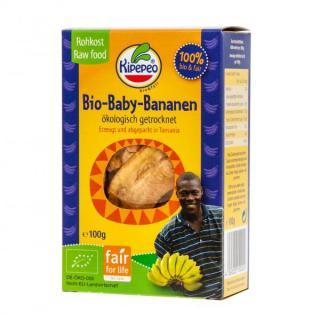 Baby-Bananen getrocknet