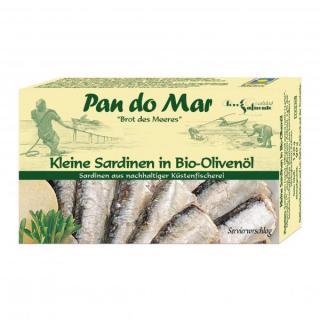 Sardinen in Bio-Olivenöl extra
