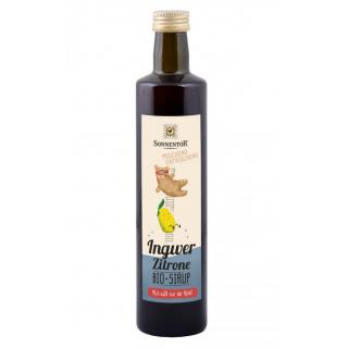 Ingwer-Zitronensirup