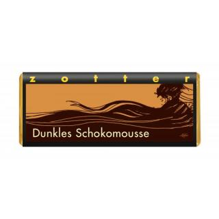 Dunkles Schokomousse