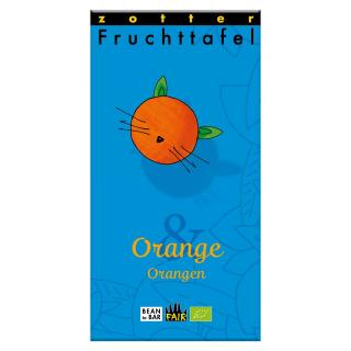 Fruchttafel Orange & Orangen
