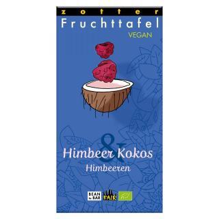 Fruchttafel Himbeer Kokos & Himbeeren