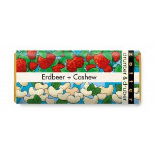 drunter & drüber - Erdbeer & Cashew