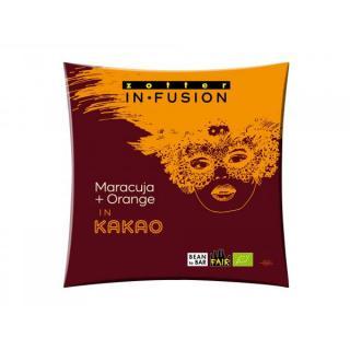 Infusion Maracuja und Orange in Kakao