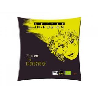 Infusion Zitrone in Kakao