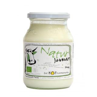 Naturjoghurt 0,5lGl stich 3,8%